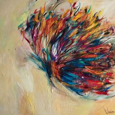 Thick Paint Strokes Form Gorgeous Butterfly Wings - My Modern Metropolis