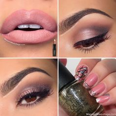 "! Maryam Maquillage !: ""Pretty in Pink"" in Naked 3"
