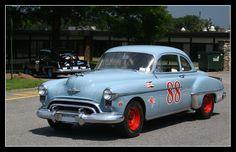 Vintage '53 Olds #88 Stock Race Car