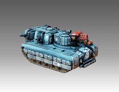 Southern Hittite light tank - Heavy Gear Blitz - Dream Pod 9 - Painted by Angel Giraldez