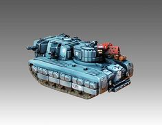 Southern Hittite light tank - Heavy Gear Blitz - Dream Pod 9 - Painted by Angel Giraldez