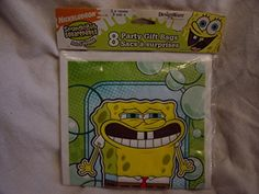 nice Spongebob Squarepants 8 Party Gift Bags Check more at http://partythemesforbirthday.com/product/spongebob-squarepants-8-party-gift-bags/