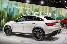 Mercedes GLE 63 Coupe Launched At Detroit Auto Show