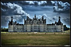 Chateau de Chambord a Renaissance Chateau in the Heart of the Loire Valley, France