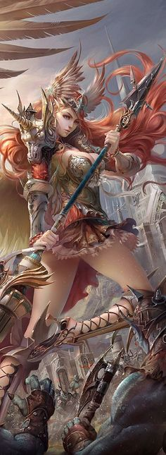 angel warrior | legend of the cryptids