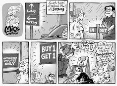 Mice Cartoon, Kompas Minggu - 04 Oktober 2015: Terasingkan Di Negeri Sendiri
