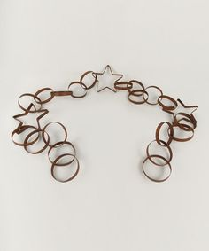 Another great find on #zulily! Rustic Star & Ring Garland #zulilyfinds