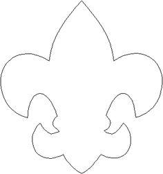 Boy Scout Back Pack Fleur-de-Lis Pattern - ClipArt Best - ClipArt Best