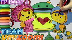 Team Umizoomi Coloring Book Eposide 4 - MILLI BOT GEO Coloring Page for ...