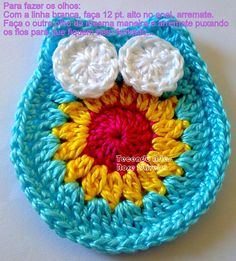 Tejiendo Arte en Crochet: Paso a paso buho dormilón!
