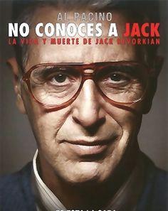 """No conoces a Jack (2010) de Barry Levinson. Película biográfica sobre el doctor Jack Kevorkian, más conocido como """"Doctor Muerte"""". Desde principios de los años 90 ha sido la figura más representativa en el debate sobre la eutanasia. Después de intervenir en más de 130 casos de suicido asistido, se convirtió en un personaje mediático que se vio involucrado en interminables batallas legales, en las que defendía el derecho a morir de sus pacientes. Al Pacino, Social, Movies, Movie Posters, Fictional Characters, Female Doctor, Death, Law, Cases"""