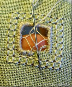 THE SEW THERAPY: PUNTO ANTICO - TUTORIAL 1 Hem Stitch, Drawn Thread, Cut Work, Lace Making, Needlepoint, Needlework, Embroidery, Sewing, Fabric