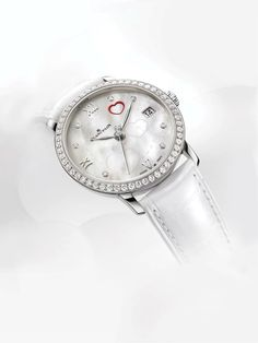 Every year since 2001, Valentine's Day has marked a special rendezvous between Blancpain and women, for which the Manufacture annually introduces a watch featuring an unusual interpretation of love. The Valentine's Day 2014 model lives up to expectations in a charmingly subtle manner.   Read more: http://www.blancpain.com/en/news/blancpain-valentines-day-2014-experiencing-power-discreet-elegance