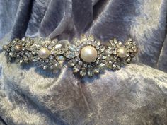 Vintage Diamanté Tiara