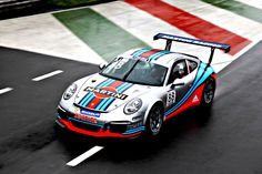 New Porsche 911 Cup debuts with Martini Racing stripes and Sébastien Loeb at the wheel - SkiddMark Porsche 911 Gt3, Porsche Motorsport, New Porsche, Porsche Classic, Porsche Carrera, Classic Cars, Martini Racing, Ferdinand Porsche, Le Mans