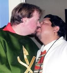 Priest having gay sex