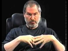"""▶ Steve Jobs in 2003 at D1 the First D All Things Digital Conference >> """"It turns out people want keyboards""""… """"We look at the tablet and we think it's gonna fail"""" - Steve Jobs :))"""