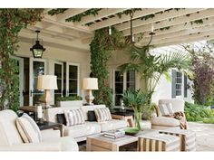 Outdoor Living Rooms.  Read more: 2014 House Design Trends