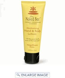 The Naked Bee Orange Honey Blossom Lotion - my new scent obsession.