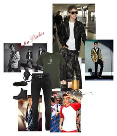 """Stylin' Bieber"" by shanry ❤ liked on Polyvore featuring Justin Bieber, River Island, Alexander McQueen, Gucci, Nialaya, Emporio Armani, John Hardy, Timberland, Bulgari and HUGO"