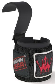 Amazon.com: Power Weight Lifting Hooks - Best Weightlifting Strap Hooks for Gym Training Workout Like Deadlift & Shrugs - Crown Gear Ultimate Grips Powerlifting Hook with Cushioned Neoprene Wrist Straps - Comes in Pair - 1 Year Hassle-free Replacement Warranty: Sports & Outdoors