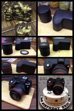 Camera cake tutorial