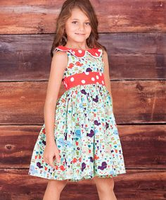 This Mint Collar Belezza Kelsea Dress - Infant, Toddler & Girls is perfect! #zulilyfinds