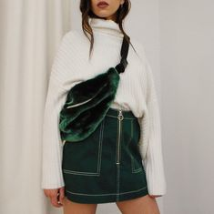 """10.5k Likes, 124 Comments - WEEKDAY (@weekday_stores) on Instagram: """"Just in: Park shoulder bag, Piet mini skirt and Etch sweater"""""""