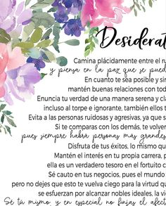 Your place to buy and sell all things handmade Poema Desiderata, Desiderata Poem, Max Ehrmann, Mom Quotes From Daughter, Discover Yourself, Birthday Wishes, Peace And Love, Positivity, Art Prints