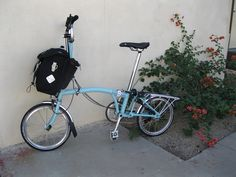 She Rides a Bike: My little Brompton; some gratuitous shots. . .
