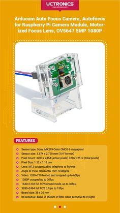 15Cm 1080P Camera Module Board 5Mp Webcam Video For Raspberry Pi 2//3 B9