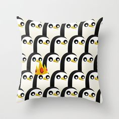 Buy Adventure Time - Gunter by Ashtn as a high quality Throw Pillow. Worldwide shipping available at Society6.com. Just one of millions of products…