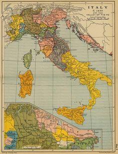 Rome, Florence, Venice, Ponza, Ischia, Amalfi, Portofino, etc.
