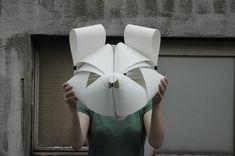japanese artist maeda baku creates unique and creative ribbon sculptures.
