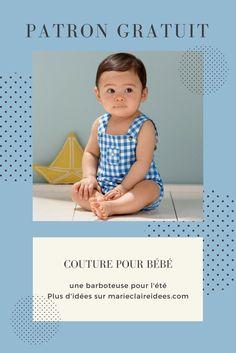Avis à toutes les jeunes mamans, Cyrillus vous propose un tutoriel pour apprendre comment coudre une jolie barboteuse en tissu Vichy. Une tenue à croquer que votre bébé portera tout l'été.