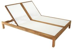Hamilton Double Chaise Lounge with Price : $ 3612.5
