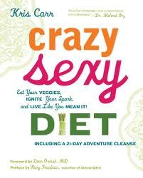 Crazy Sexy Diet by Kris Carr The New York Times bestseller by the author of the best-selling Crazy Sexy Cancer Tips and Crazy Sexy Cancer Survivor, takes on the c. Dean Ornish, Diet Books, Ab Workouts, How To Increase Energy, Nutrition Tips, Health Tips, Diet Tips, Health Book, Health Guru