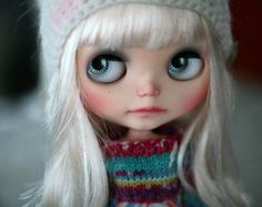 RESERVED -- Custom Blythe Doll -- Strudel