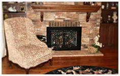 Fireplace Glass Doors, Hearth, Home Decor, Log Burner, Home, Decoration Home, Room Decor, Stove, Home Interior Design
