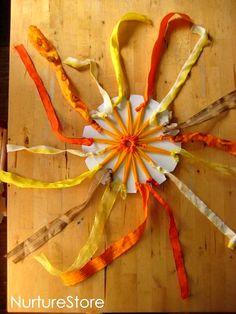 sun weaving :: sun craft