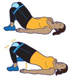 Strengthen your pelvic-floor muscles with these simple exercises. Strengthen your pelvic-floor muscles with these simple exercises. Senior Fitness, Yoga Fitness, Fitness Tips, Fitness Exercises, Group Fitness, Floor Workouts, Easy Workouts, Pelvic Floor Exercises, Physical Therapy