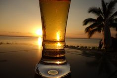 Beer at Lux le Morne, Mauritius