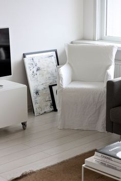 Ghost Linen Chair   Google Search
