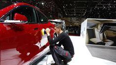 Geneva Motor Show 2015 – Tesla Motors