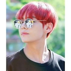 Instagram post by BTS 방탄소년단 V • Feb 11, 2017 at 11:11am UTC ❤ liked on Polyvore featuring jewelry, earrings, red earrings and red jewelry