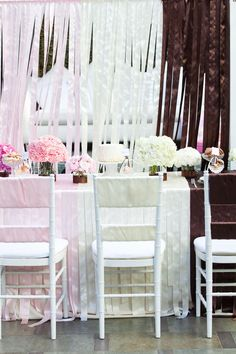 neapolitan - found via style me pretty, photo credit: Aaron Shintaku, design by: Intertwined Events