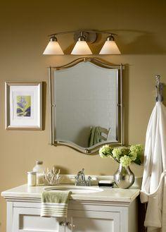 Tips for picking the right bathroom lighting