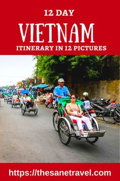 12 days Vietnam itinerary pictures