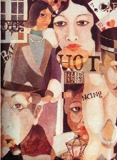 庞薰琹 如此巴黎 1931年 水彩