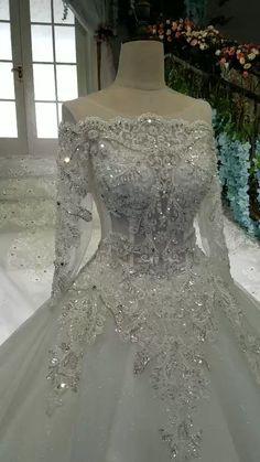 9d587aee0 2019 cuello escote vestidos de boda maravillosa ata con tren de diamantes  reales US  839.00 VEP4MH3SP2. Dresses AustraliaYoung WomenFashion Outfits Wedding ...